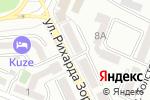 Схема проезда до компании Нива в Алматы