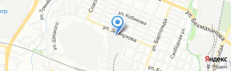 Ремонт путевой техники ТОО на карте Алматы