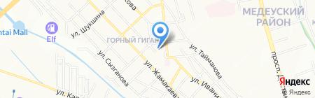 Фонд образования Н. Назарбаева на карте Алматы