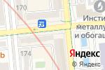 Схема проезда до компании Maretti в Алматы
