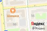 Схема проезда до компании ЭлтиКор в Алматы
