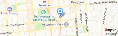 GREEN на карте Алматы