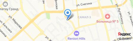 Противопожарное Обеспечение M на карте Алматы