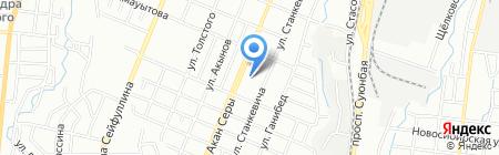 Центр реабилитации Алматинского общества трезвости и здоровья на карте Алматы