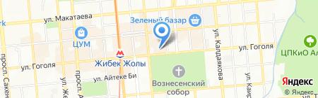 Ali-Zhan на карте Алматы