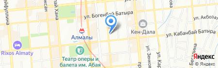 Вернисаж на карте Алматы