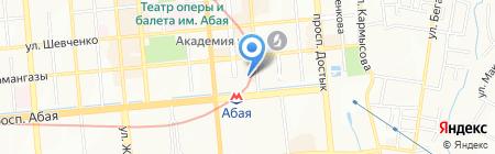 Тенгиз Строй на карте Алматы