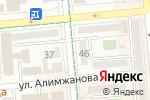 Схема проезда до компании Абзал-Кредит, ТОО в Алматы