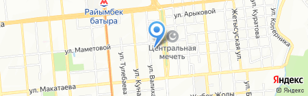 Мега Софт на карте Алматы