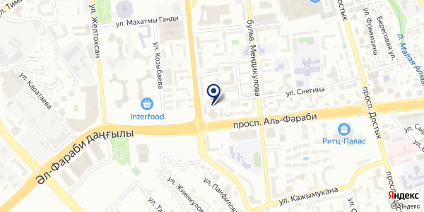 Lash Bar на карте Алматы