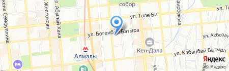 Travel bank на карте Алматы