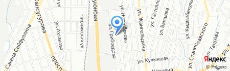 Tarlan Adv на карте Алматы