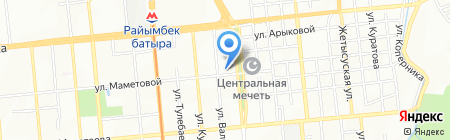 Центр медико-фармацевтической информации на карте Алматы