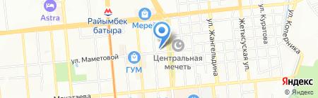 Miromed LTD на карте Алматы