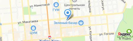 Талим-Таным на карте Алматы