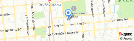 Навигатор-SG на карте Алматы