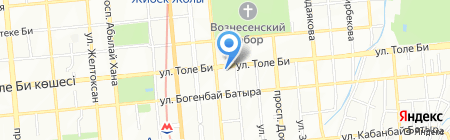 Agnay на карте Алматы