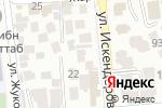 Схема проезда до компании MedConcept.KZ в Алматы