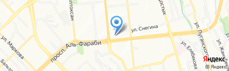 UBS банк на карте Алматы