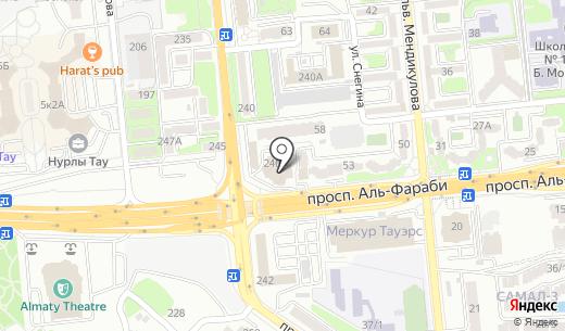 Renault Trucks. Схема проезда в Алматы
