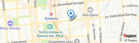 Республиканский музей книги на карте Алматы