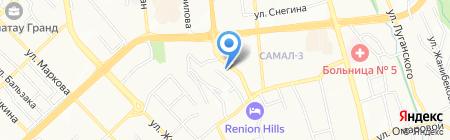 GAS-KCO на карте Алматы