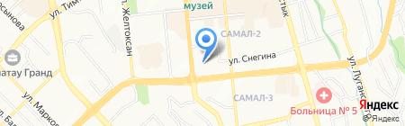 QS Azia Sertik на карте Алматы