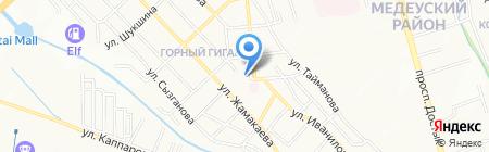 Мунайшы им. Н.А. Марабаева на карте Алматы