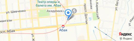 ПАНТЕРА на карте Алматы