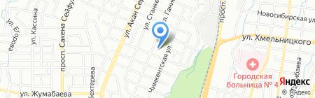 Санаторный ясли-сад №70 на карте Алматы