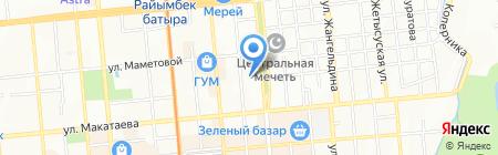 Turan Partners на карте Алматы