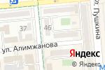Схема проезда до компании Focus Dent в Алматы