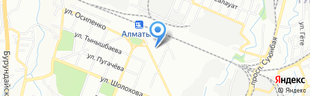 СДЮШОР №11 на карте Алматы