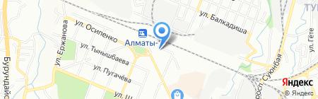 Почтовое отделение связи №41 на карте Алматы