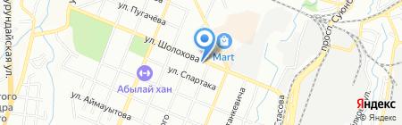 Управление государственных доходов по Турксибскому району на карте Алматы