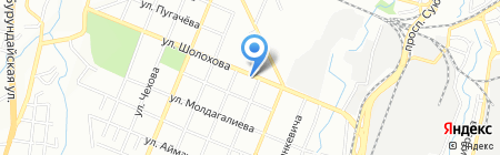 Турксибский районный архив на карте Алматы