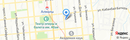 A.venue на карте Алматы