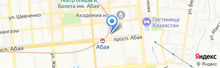 Национальная инвестиционная корпорация Национального банка Республики Казахстан на карте Алматы