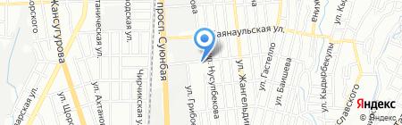 АК-КУС ТОО на карте Алматы