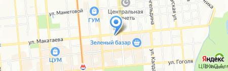Деликатес на карте Алматы