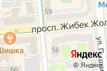 Схема проезда до компании АРТЕК, ТОО в Алматы