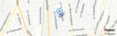Жихаз на карте Алматы