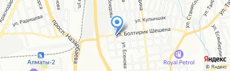 Чиль-Сон на карте Алматы