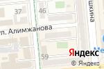 Схема проезда до компании EELS в Алматы