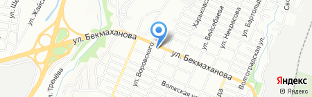 Пирим на карте Алматы