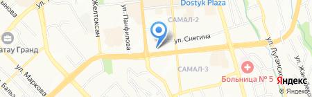 ЭйТиСиКаз ТОО на карте Алматы