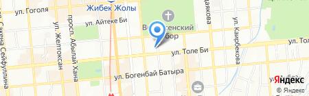 КИДО на карте Алматы