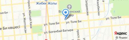Гаруда на карте Алматы
