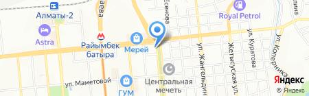 Ралина на карте Алматы