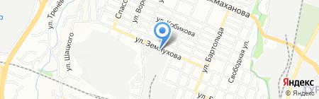 Экономыч на карте Алматы